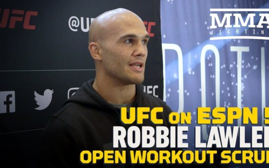 UFC on ESPN 5: Robbie Lawler Talks Colby Covington Fight, Askren Loss, More – MMA Fighting