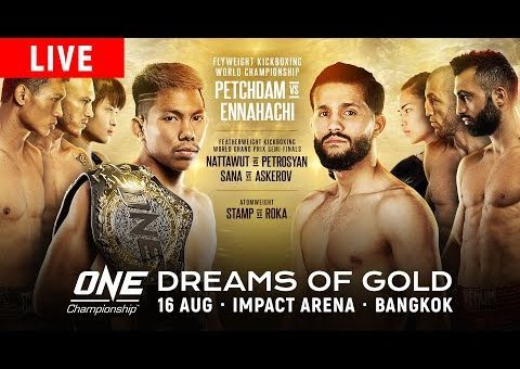 ONE Championship: DREAMS OF GOLD Weigh-Ins & Hydration Test