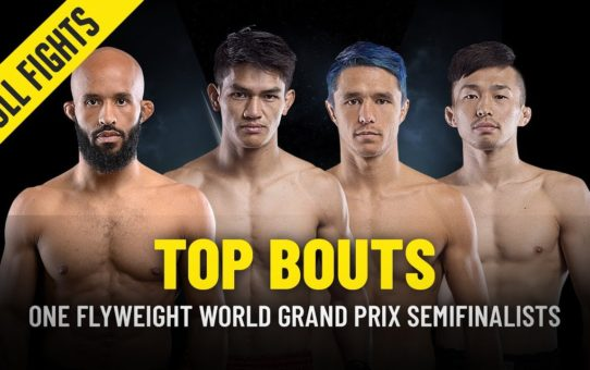ONE Flyweight World Grand Prix Semifinalists' Top Bouts | ONE Full Fights