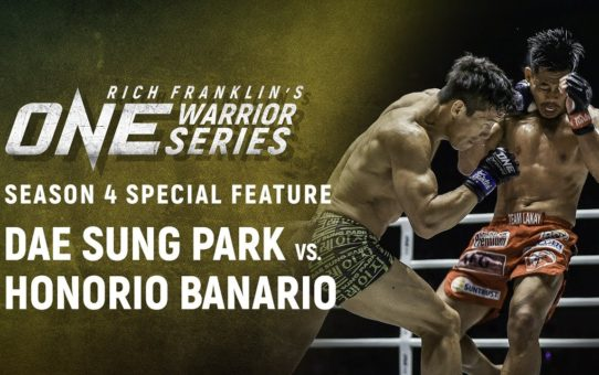 Rich Franklin's ONE Warrior Series | Dae Sung Park Makes A Statement