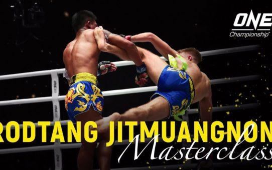 Rodtang Jitmuangnon vs. Jonathan Haggerty | ONE Masterclass