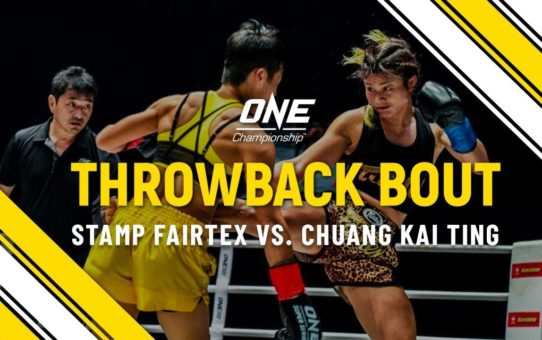 Stamp Fairtex vs. Chuang Kai Ting | ONE Full Fight | Throwback Bout