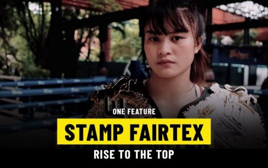 Stamp Fairtex's Rise To The Top | ONE Feature