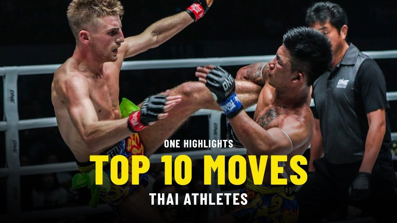 Thai Athletes' Top 10 Moves | ONE Highlights