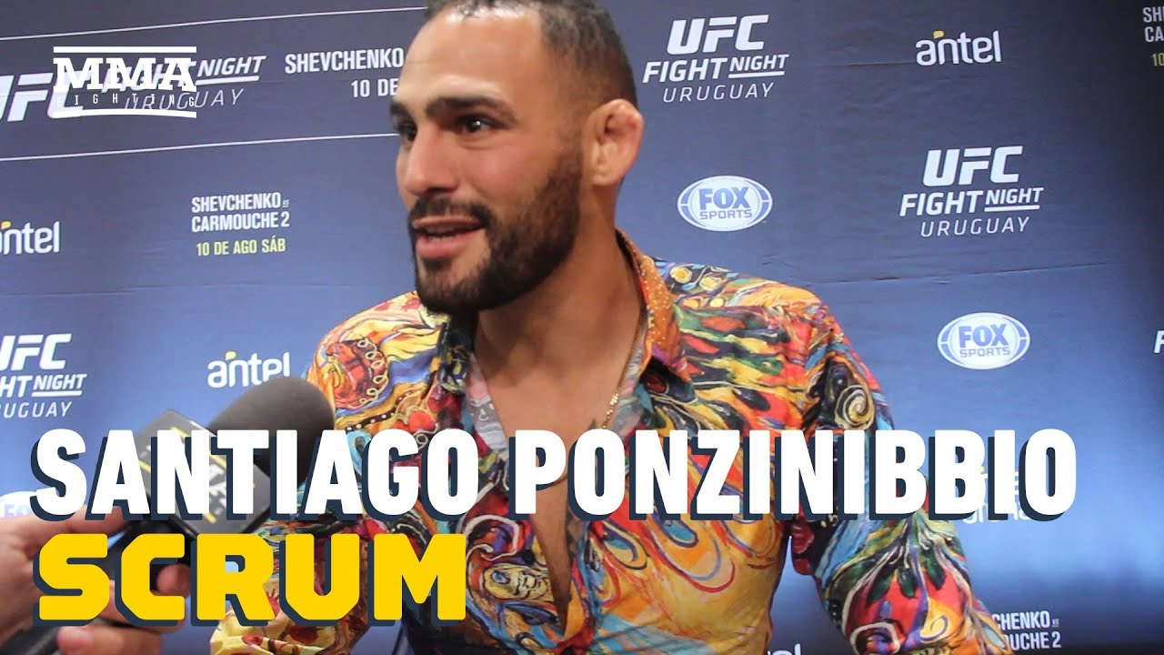 Santiago Ponzinibbio Open To Lightweight Move For Khabib Nurmagomedov Bout: 'I Can Finish This Guy'