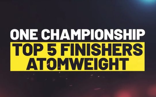 Top 5 Atomweight Finishers | ONE Highlights