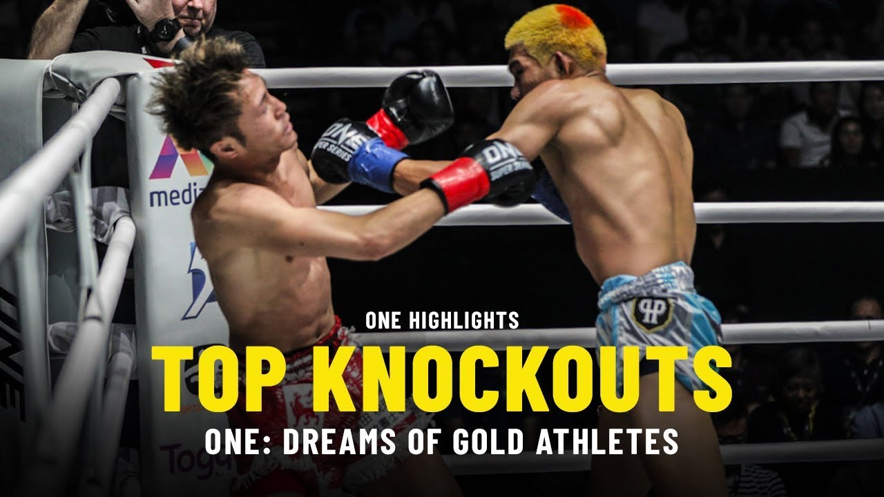 Top 5 Knockouts | ONE: DREAMS OF GOLD Athletes | ONE Highlights