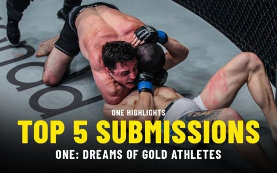 Top 5 Submissions From ONE: DREAMS OF GOLD Athletes | ONE Highlights