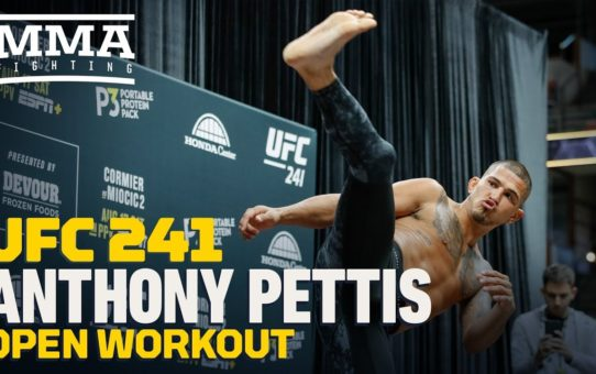 UFC 241: Anthony Pettis Open Workout Highlights – MMA Fighting