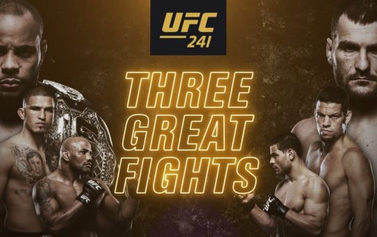 UFC 241: Cormier vs Miocic 2 – Three Great Fights