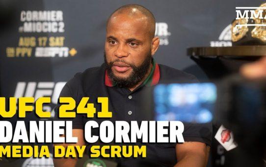 UFC 241: Daniel Cormier Calls His Memorable Career, Journey 'Madness'