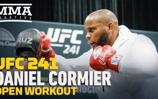UFC 241: Daniel Cormier Open Workout Highlights – MMA Fighting