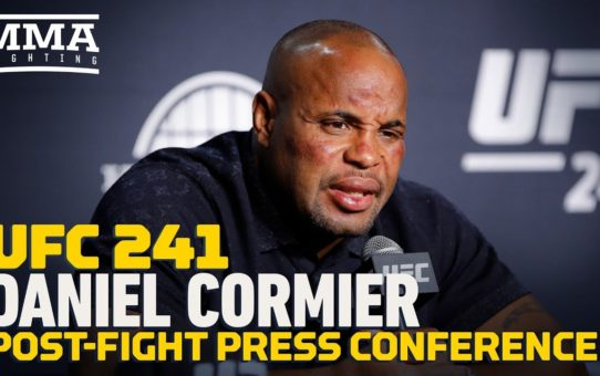 UFC 241: Daniel Cormier Post-Fight Press Conference – MMA Fighting