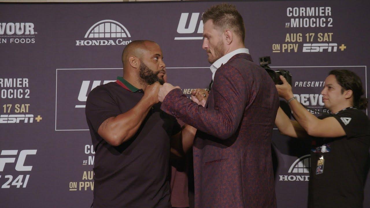 UFC 241: Media Day Faceoffs