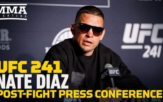 UFC 241: Nate Diaz Post-Fight Press Conference – MMA Fighting