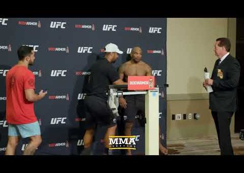 UFC 241 Official Weigh-in Live Stream – MMA Fighting