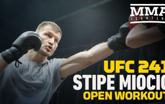 UFC 241: Stipe Miocic Open Workout Highlights – MMA Fighting