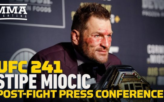 UFC 241: Stipe Miocic Post-Fight Press Conference – MMA Fighting