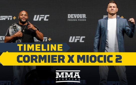 UFC 241 Timeline: Daniel Cormier vs. Stipe Miocic 2 – MMA Fighting