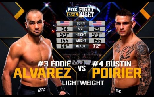UFC 242 Free Fight: Dustin Poirier vs Eddie Alvarez 2