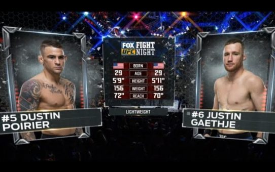 UFC 242 Free Fight: Dustin Poirier vs Justin Gaethje