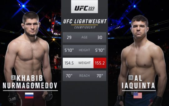 UFC 242 Free Fight: Khabib Nurmagomedov vs Al Iaquinta