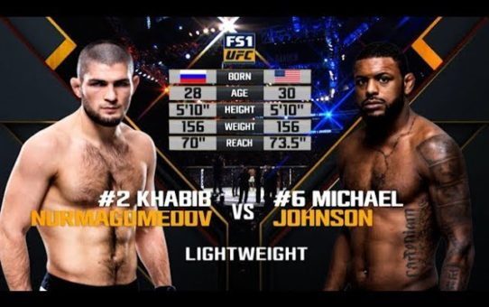 UFC 242 Free Fight: Khabib Nurmagomedov vs Michael Johnson