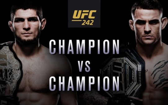 UFC 242: Khabib vs Poirier – Champion vs Champion