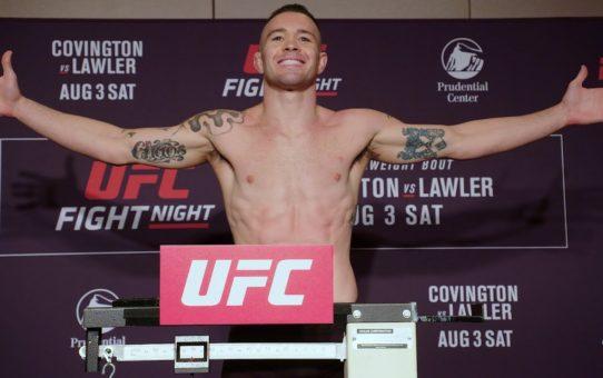 UFC Newark: Official Weigh-in