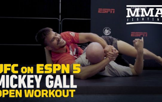 UFC on ESPN 5: Mickey Gall Open Workout Highlights – MMA Fighting