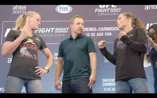 UFC Uruguay: Media Day Faceoffs