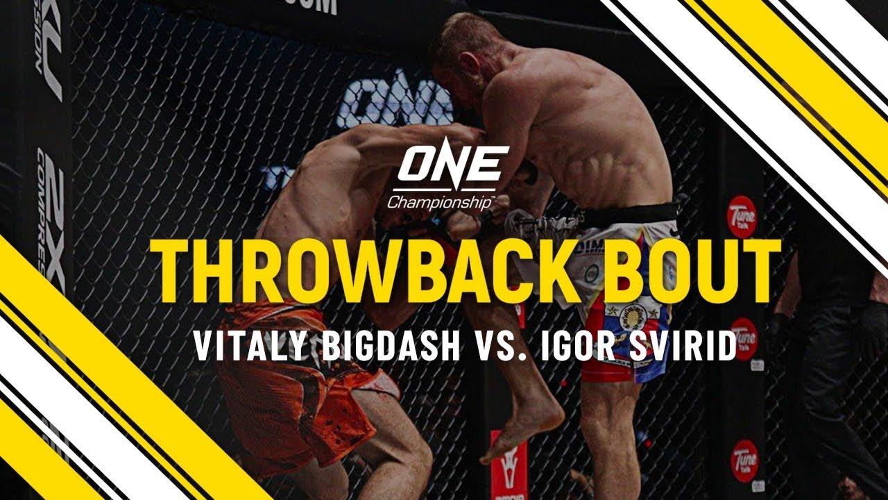 Vitaly Bigdash vs. Igor Svirid   ONE Full Fight   Throwback Bout