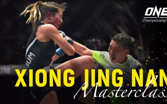 Xiong Jing Nan vs. Angela Lee   ONE Masterclass