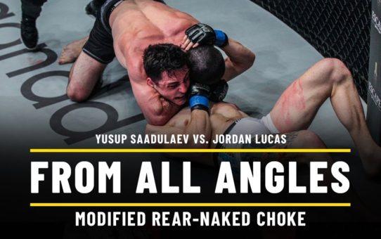 Yusup Saadulaev vs. Jordan Lucas   ONE From All Angles