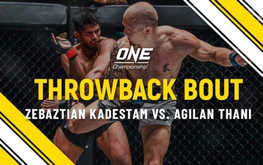 Zebaztian Kadestam vs. Agilan Thani | ONE Full Fight | Throwback Bout