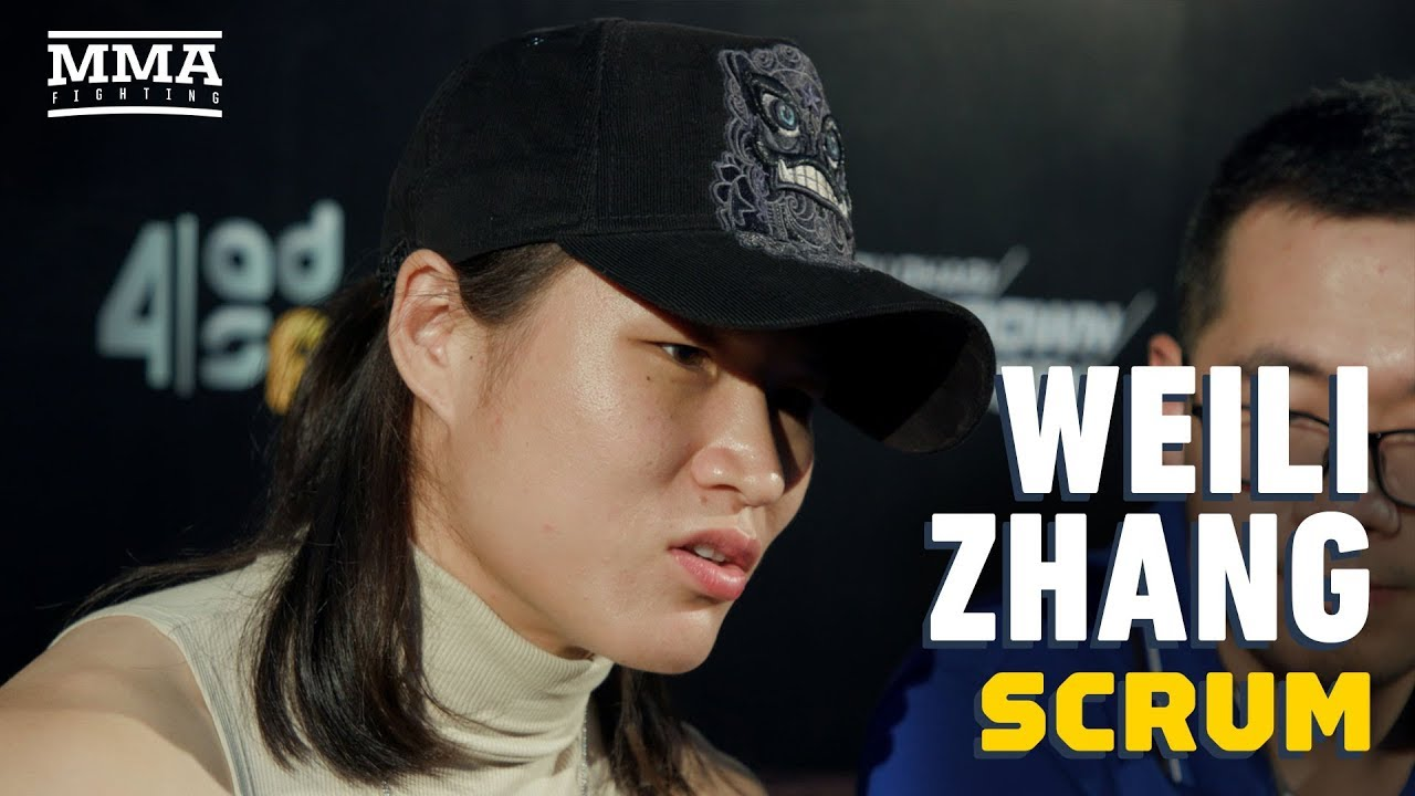 UFC 242: Weili Zhang Says Joanna Jedrzejczyk Isn't As Good As When She Was Champion - MMA Fighting