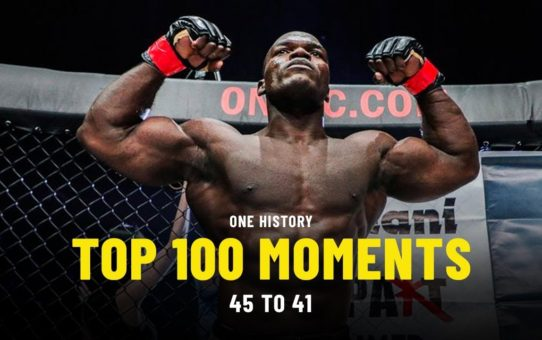 Top 100 Moments In ONE History | 45 To 41 | Ft. Alain Ngalani, Kevin Belingon & More