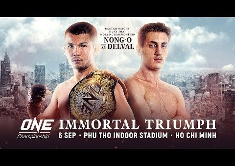 🔴 [Live] ONE Championship: IMMORTAL TRIUMPH Weigh-Ins & Hydration Test