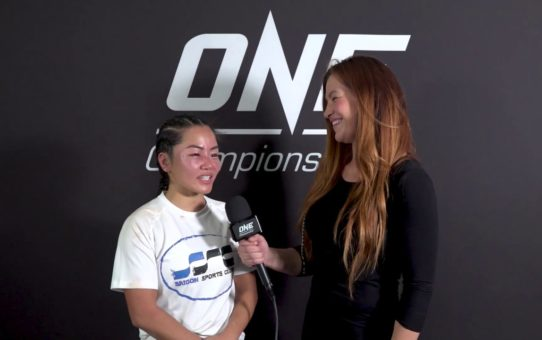 Backstage With Bi Nguyen & Miesha Tate | ONE: IMMORTAL TRIUMPH Interview