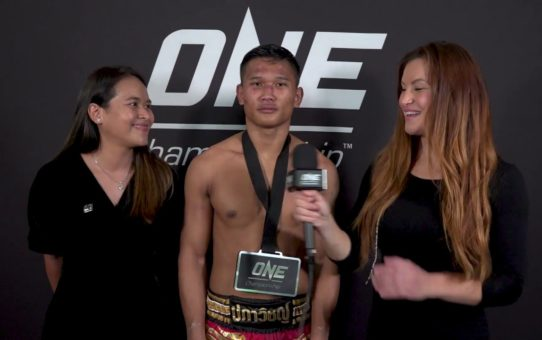 Backstage With Kulabdam & Miesha Tate | ONE: IMMORTAL TRIUMPH Interview