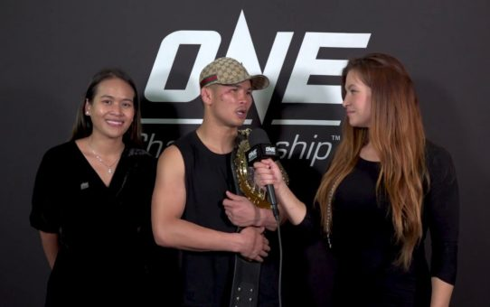 Backstage With Nong-O & Miesha Tate | ONE: IMMORTAL TRIUMPH Interview