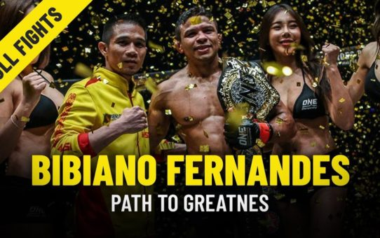 Bibiano Fernandes' Path To Greatness | ONE Features & Full Fights