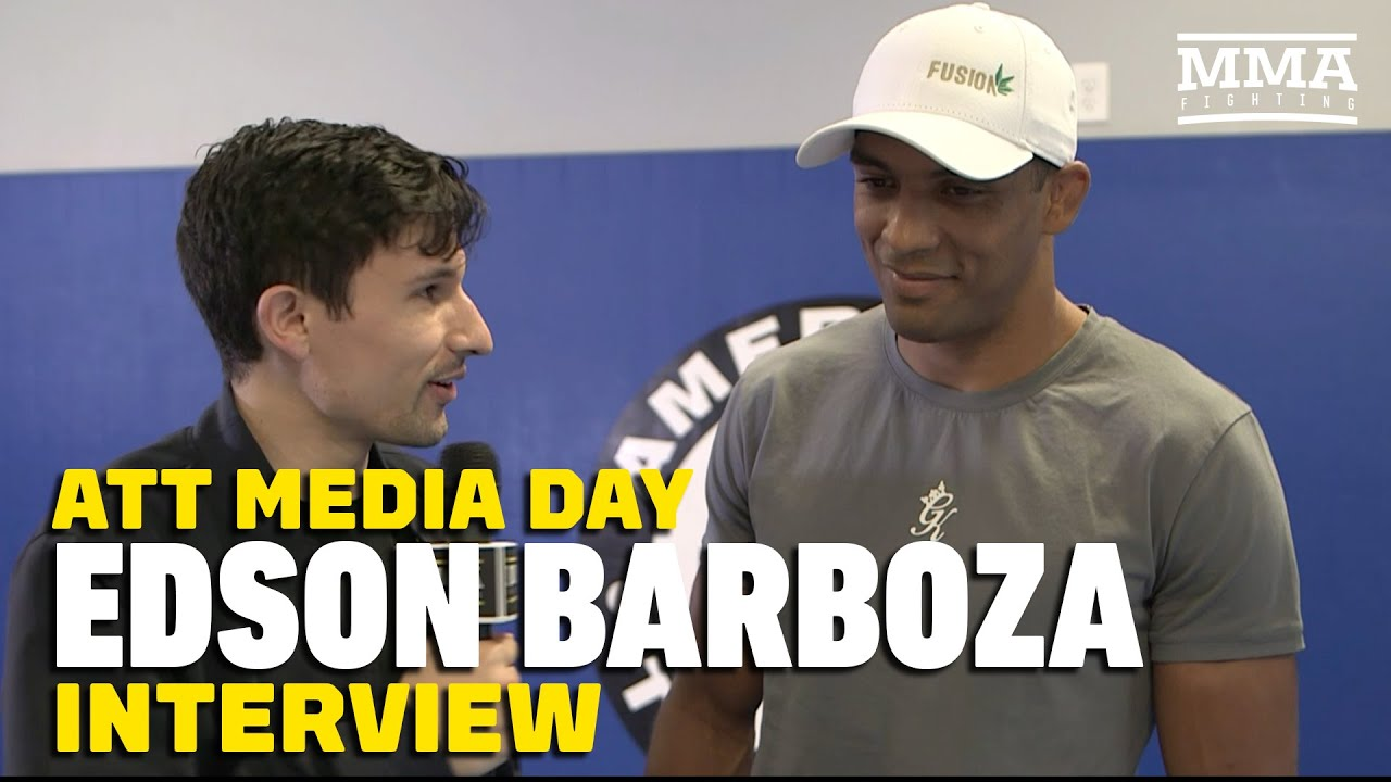Edson Barboza Discusses Rematch with Paul Felder, Khabib vs. Poirier - MMA Fighting