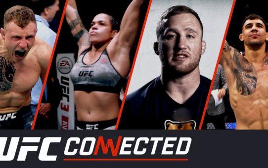 UFC Connected: Justin Gaethje, Aleksander Rakic, Amanda Nunes, Jack Hermansson