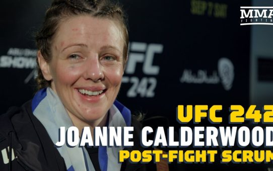 UFC 242: Joanne Calderwood Is 'Ready' If Offered Champion Valentina Shevchenko – MMA Fighting