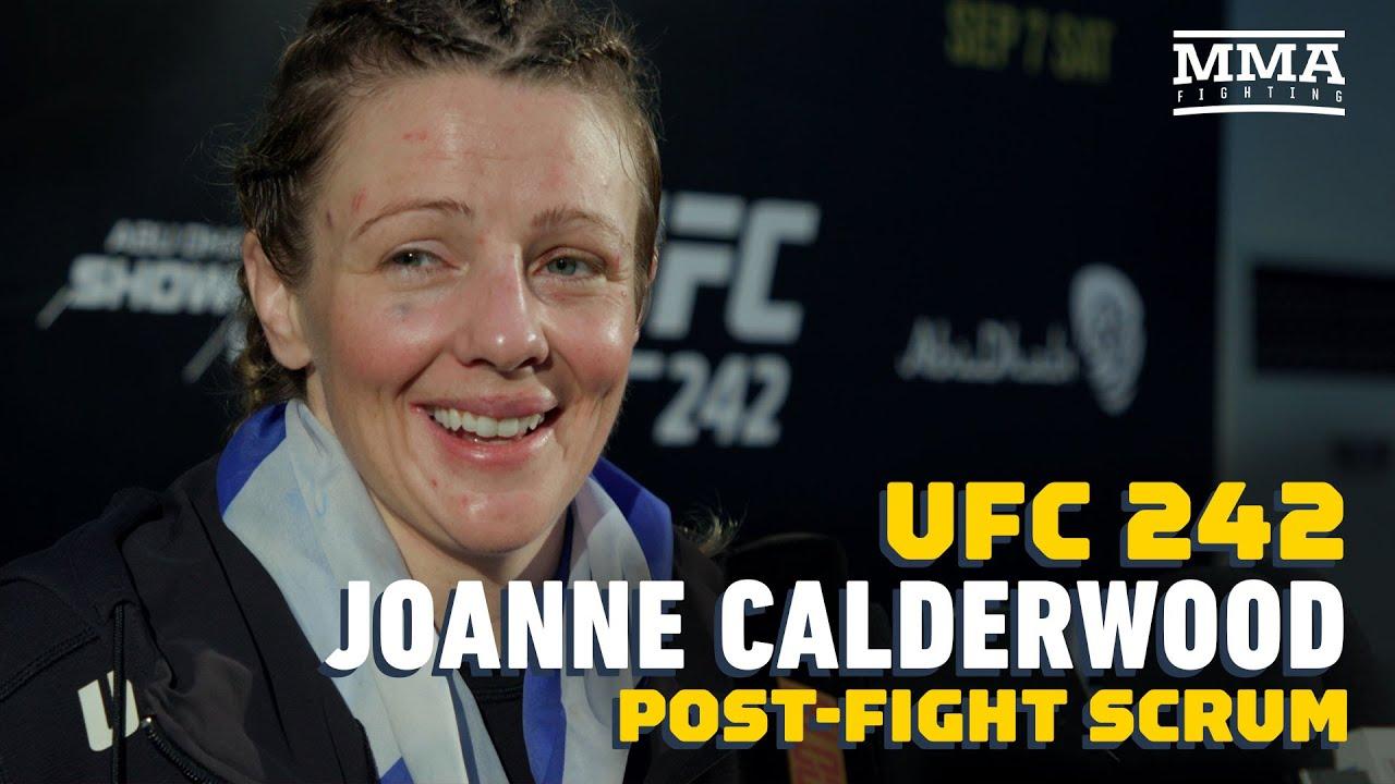 UFC 242: Joanne Calderwood Is 'Ready' If Offered Champion Valentina Shevchenko - MMA Fighting