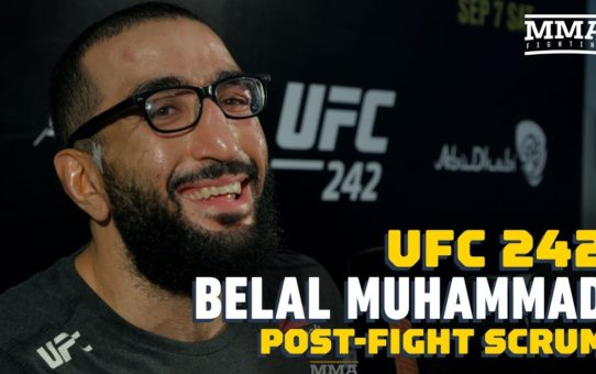 UFC 242: Belal Muhammad Wants 'Great Fight' Against Li Jingliang  Next – MMA Fighting