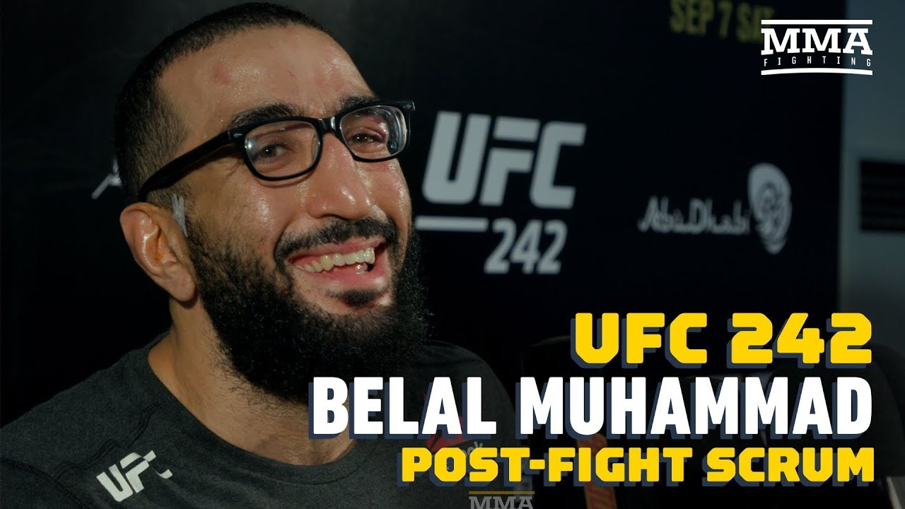 UFC 242: Belal Muhammad Wants 'Great Fight' Against Li Jingliang  Next - MMA Fighting