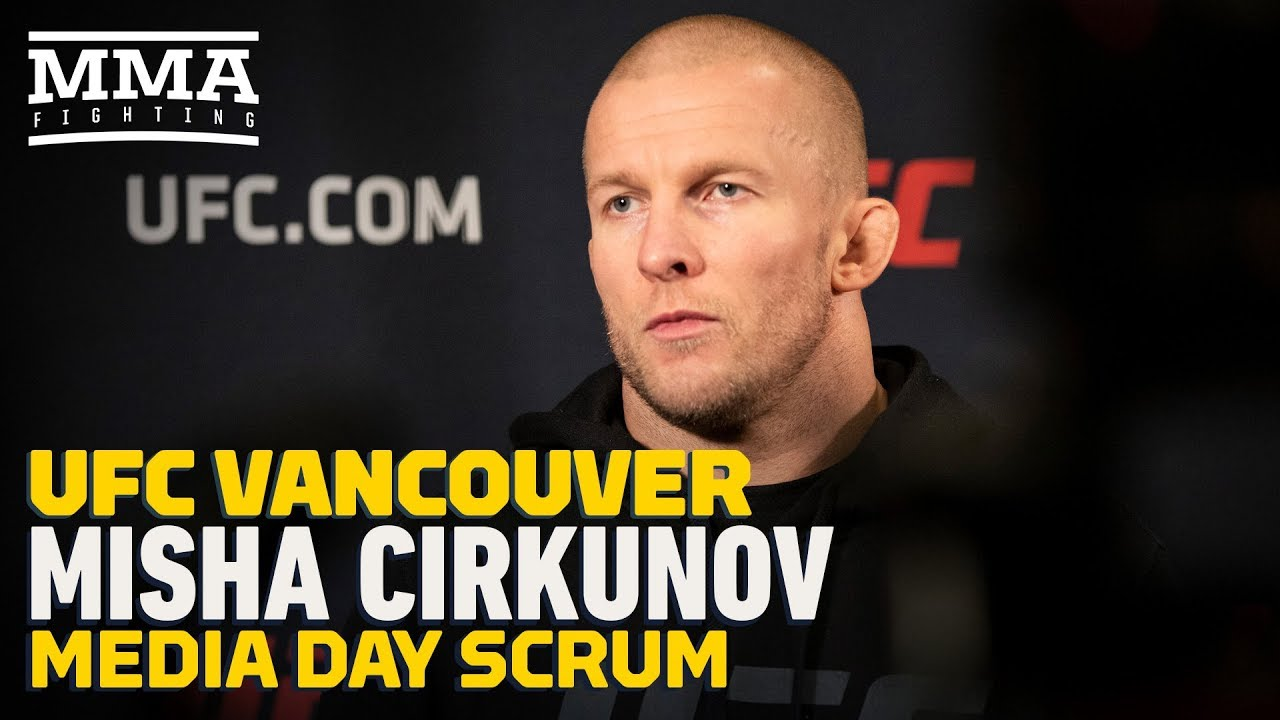 UFC Vancouver: Misha Cirkunov Discusses Bouncing Back From Quick Loss - MMA Fighting