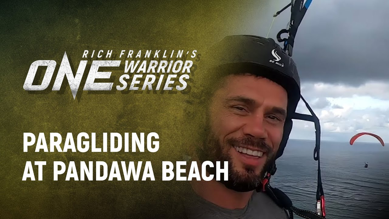 Rich Franklin's ONE Warrior Series | Best Moments: Paragliding At Pandawa Beach